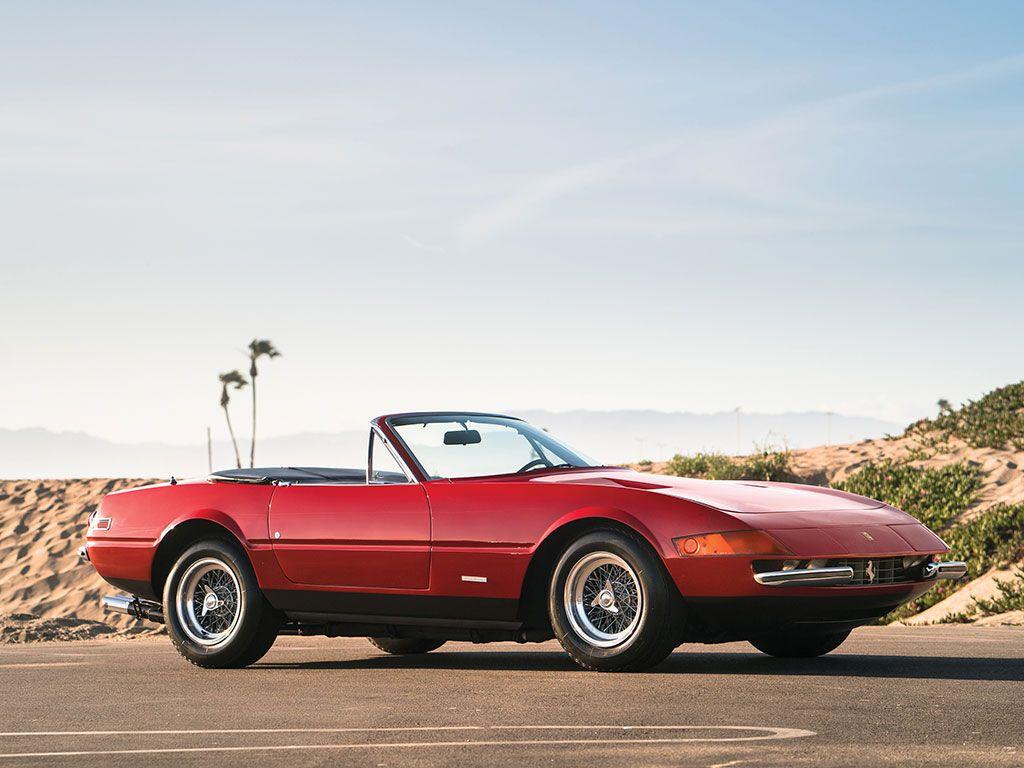 A subasta un Ferrari Daytona Spider que ha estado 20 años escondido en un garaje