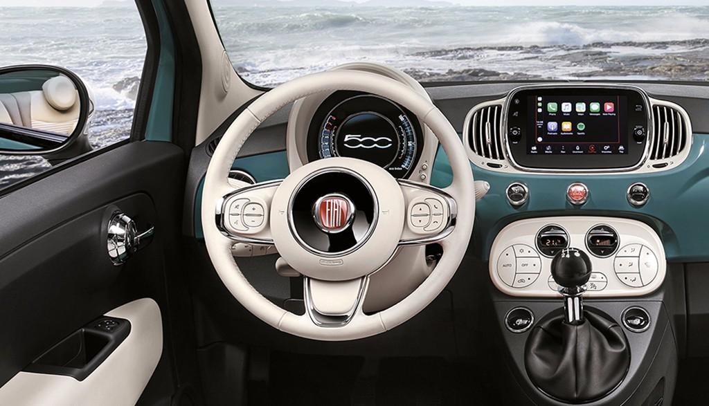Fiat 500 Anniversario - interior