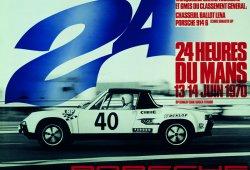20 carteles históricos Porsche de las 24 Horas de Le Mans