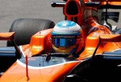 """Alonso: """"No estaba yendo lento, esa es mi velocidad en la recta"""""""