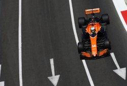 Alonso probó un nuevo motor Honda más potente