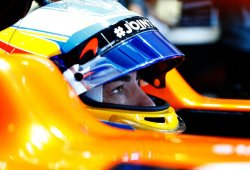 """Alonso: """"Sólo puedo hablar de sensaciones y hoy la pista estaba delicada"""""""