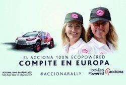 Andrea Peterhansel se une al Acciona 100% EcoPowered