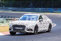 Audi A6 2018: la nueva generación de la berlina se enfrenta a Nürburgring