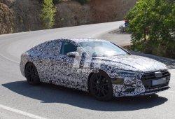 Un nuevo vistazo al Audi A7 Sportback 2018 durante su desarrollo