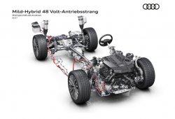 Audi revela las funciones del sistema de 48 voltios del nuevo A8 2018