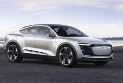 El Audi e-tron Sportback Concept se deja ver en una azotea de Hamburgo