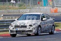 BMW Serie 1 2019: el sucesor del actual Serie 1 compacto ya rueda en Nürburgring