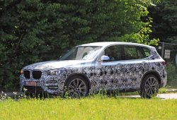 BMW X3 2018: aún camuflado pero más al descubierto que nunca