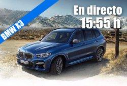 Sigue en directo la presentación del nuevo BMW X3 2018