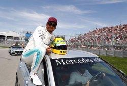 La familia Senna aclara que el casco regalado a Hamilton es una réplica