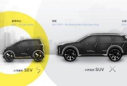 CHJ Automotive: nuevo proyecto chino de coche eléctrico para Europa