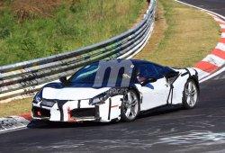 Cazamos un Ferrari 488 GTB probando nueva mecánica en Nürburgring