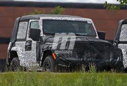 Jeep Wrangler 2018: al fin se deja ver la carrocería de 2 puertas
