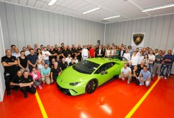 Lamborghini inaugura nuevas instalaciones en Sant'Agata Bolognese