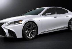 Lexus LS 500h F Sport 2018: el sedán híbrido también tiene versión deportiva