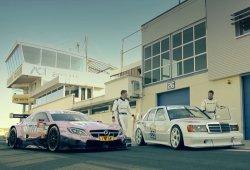 Historia de Mercedes DTM: Maro Engel y Karl Wendlinger