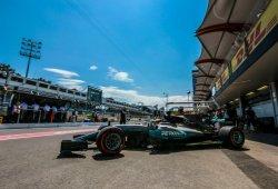 """Preocupación en Mercedes por los neumáticos: """"Es una pesadilla"""""""
