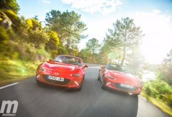 Vídeo comparativa Mazda MX-5 vs MX-5 RF, una cuestión de matices