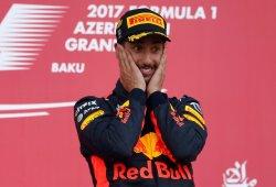 """Ricciardo, tras cruzar la meta victorioso: """"Reía como un colegial"""""""
