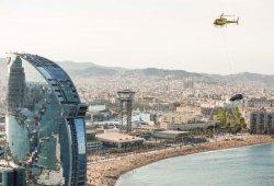 SEAT muestra las imágenes y el vídeo del paseo del Arona en helicóptero