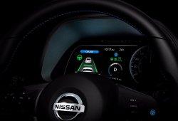 Nuevo anticipo del Nissan Leaf 2018: la marca nos muestra su instrumentación