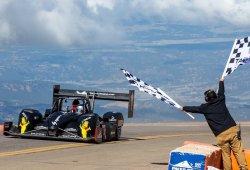 Tercer triunfo, sin récord, de Romain Dumas en Pikes Peak