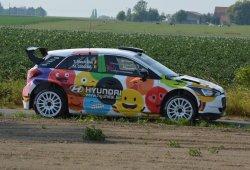 Thierry Neuville, estrella en el Ypres Rally con un i20 R5