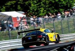 Tres Bentley Continental GT3 en las 24 Horas de Spa