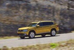 Estados Unidos - Mayo 2017: El Volkswagen Atlas hace su debut