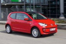 Holanda - Mayo 2017: El Volkswagen Up! saborea la victoria