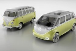 Volkswagen confirma que el  I.D. Buzz Concept tendrá variante de producción