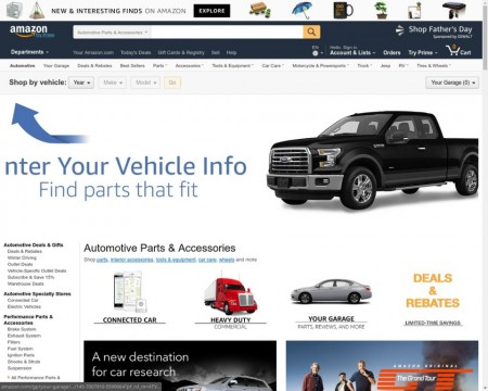 Amazon quiere vender coches en Europa