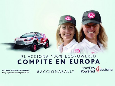 Andrea Peterhansel se une al Acciona 100% EcoPowered
