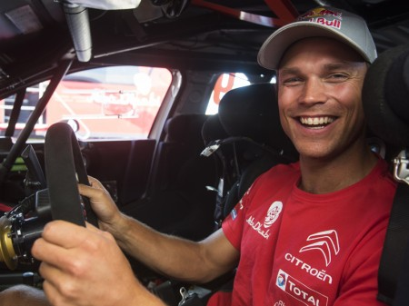 Andreas Mikkelsen ejerce de líder de Citroën en Polonia