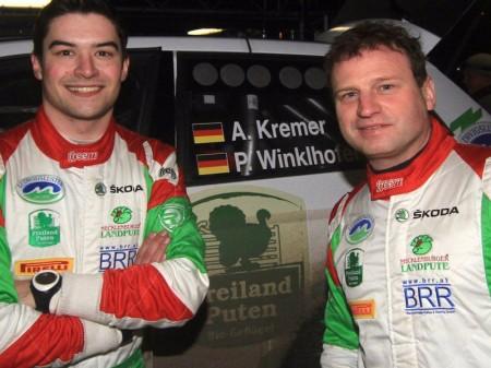 Armin Kremer, en Alemania con un Ford Fiesta RS WRC '17