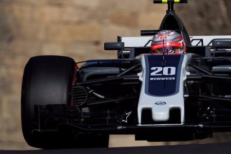 Magnussen le da seis puntos a Haas pese a los frenos