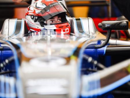 Rossiter prueba el monoplaza de Fórmula E en Berlín