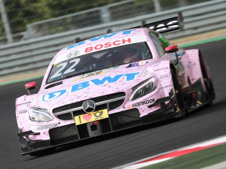Lucas Auer, candidato al DTM y a Force India