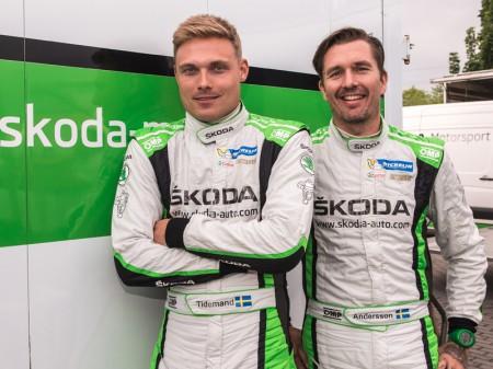 Pontus Tidemand defiende el liderato de WRC2 en Polonia