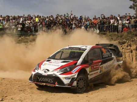 El Rally de Italia-Cerdeña reta a Toyota y a su Yaris WRC