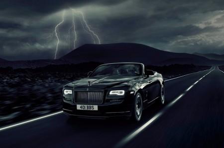 Rolls-Royce Dawn Black Badge: siniestro a la par que elegante