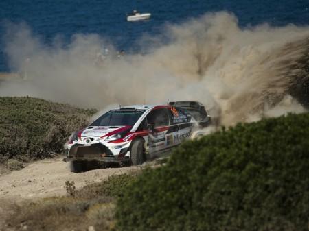 Toyota llega en gran estado de forma al Rally de Polonia