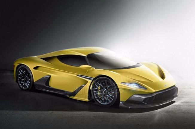 Aston Martin motor central