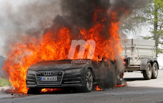Audi A7 Sportback 2018 - foto espía