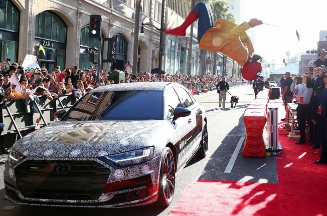 Audi A8 2018 en Spider-Man: Homecoming