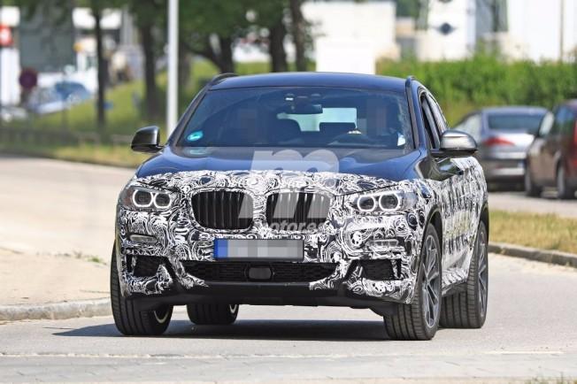 BMW X4 M40i 2018 - foto espía frontal