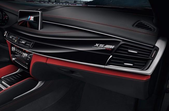 BMW X5 M Black Fire Edition - interior