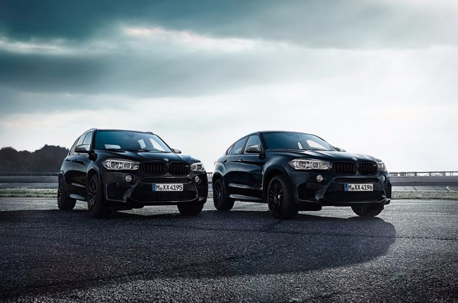 BMW X5 M y X6 M Black Fire Edition