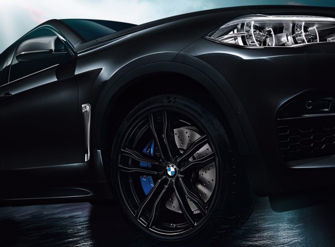 BMW X5 M y X6 M Black Fire Edition - llantas
